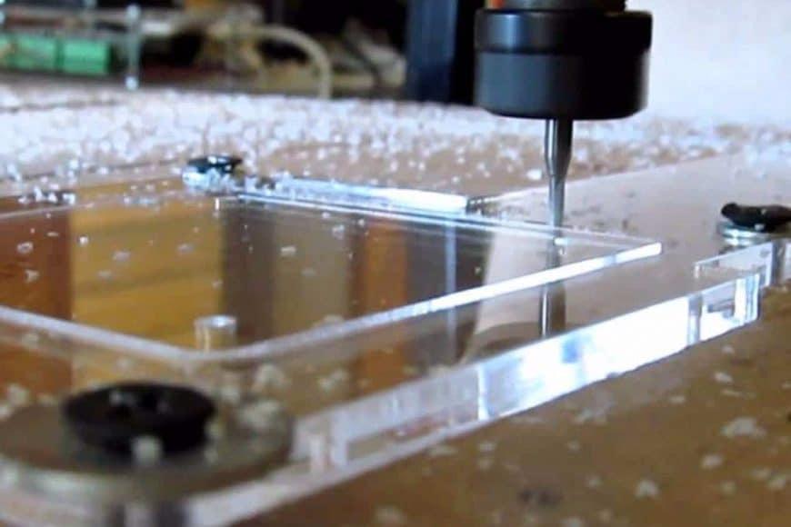 5 Proyectos de plástico para CNC (IDEAS)