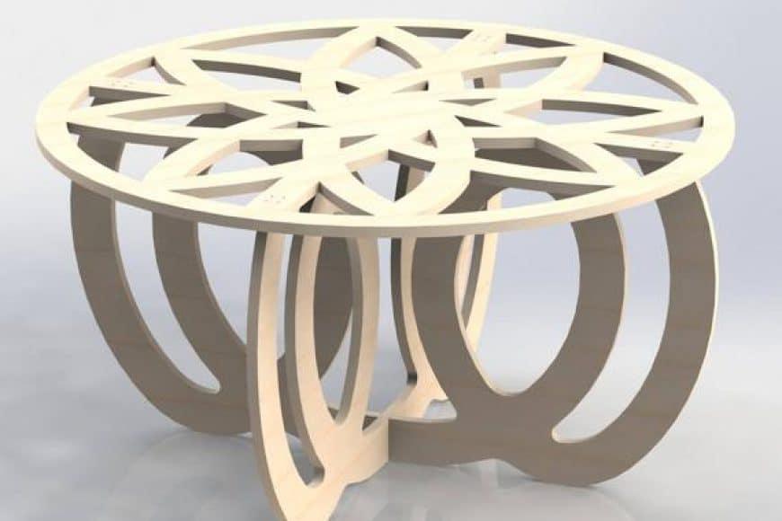 3 muebles descargables para CNC (GRATIS)