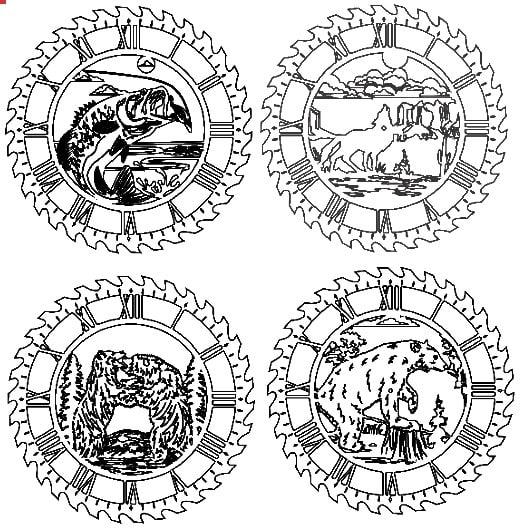 Relojes con animales 1