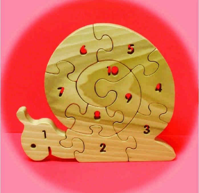 Rompecabezas numérico de caracol