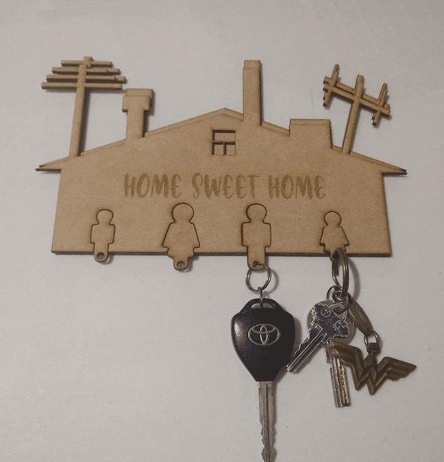 Casa portallaves