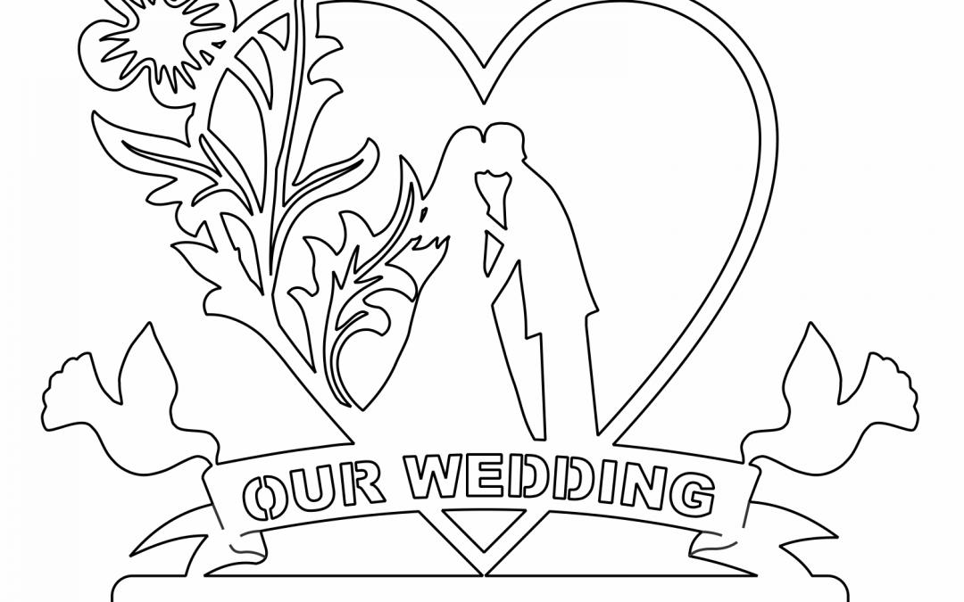 """Recuerdo """"Our wedding"""""""