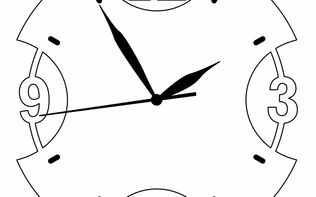 Reloj Moderno