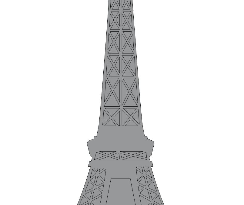 Sombra de la Torre Eiffel