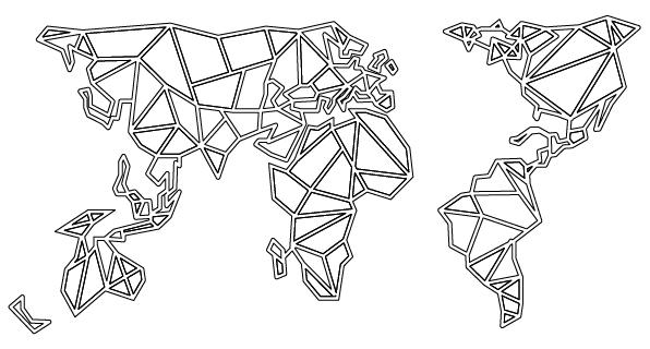 Mapa geométrico