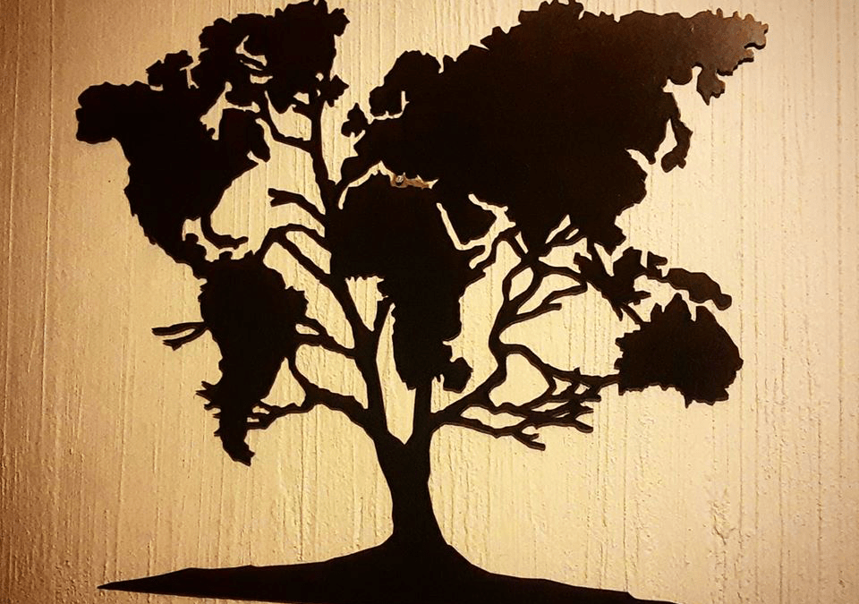 Árbol de mapamundi