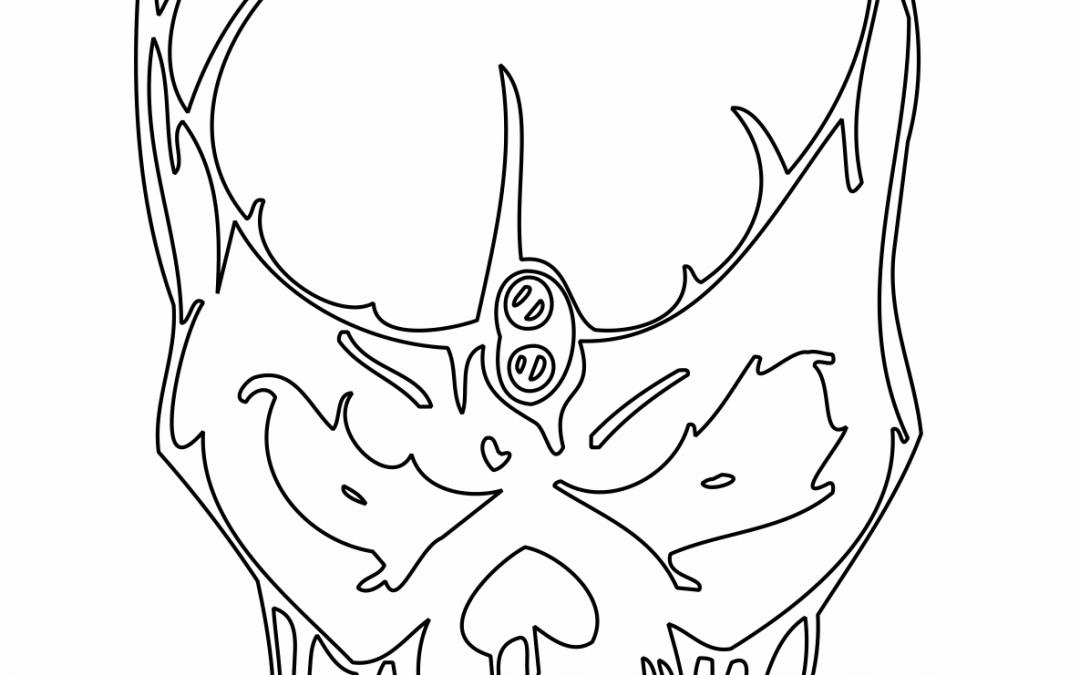 Cráneo (de frente)