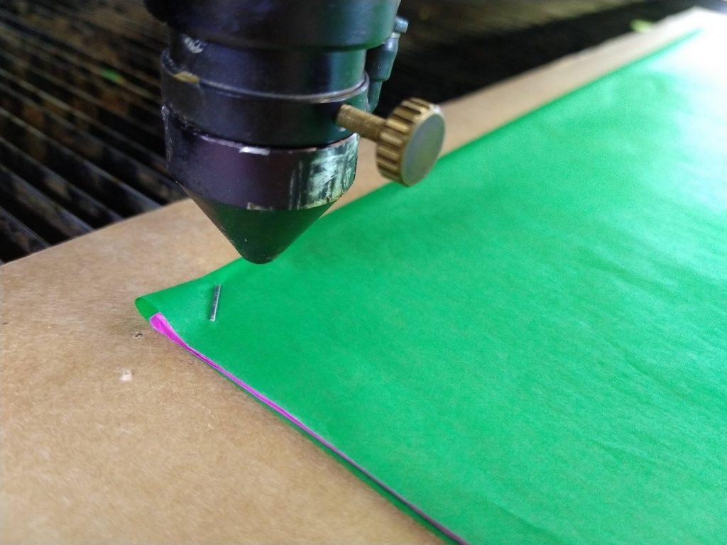 corte láser de papel picado